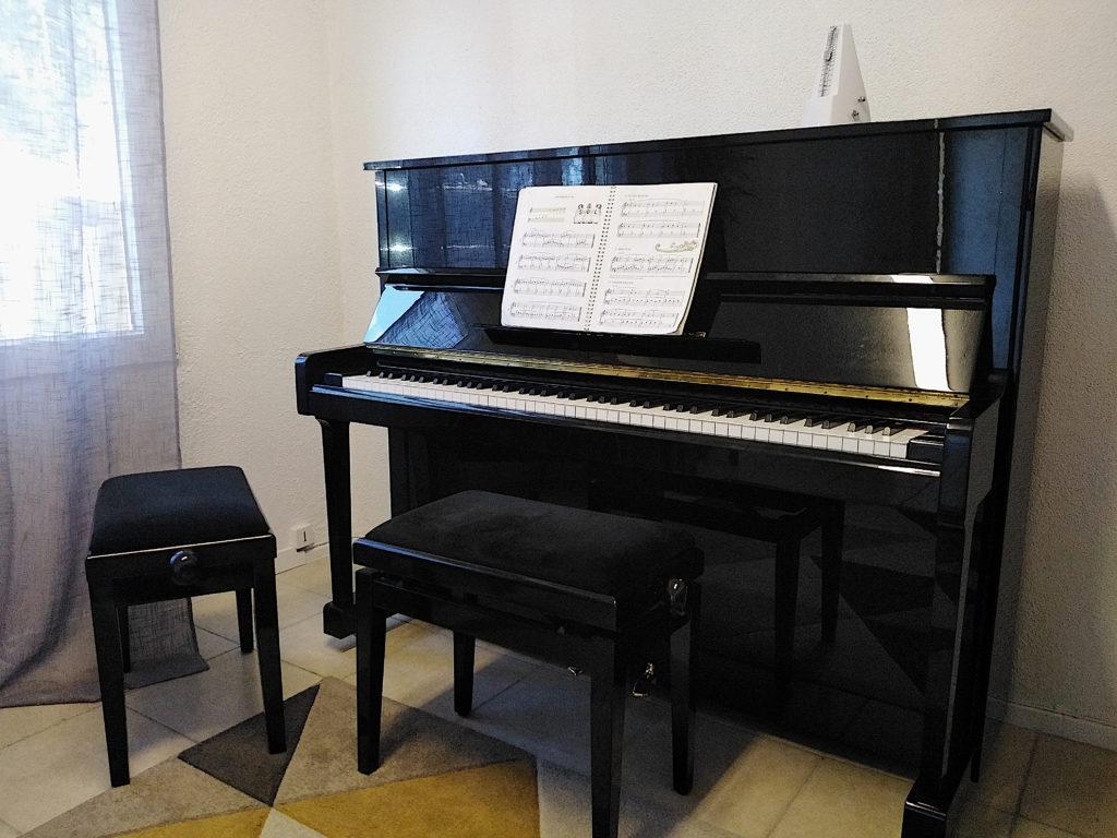 Rentrée cours de piano