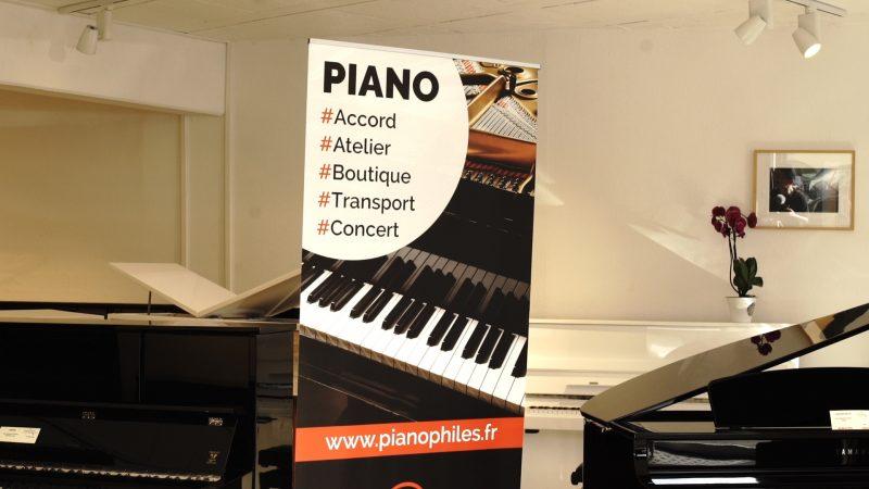 PIANOPHILES KAKEMONO